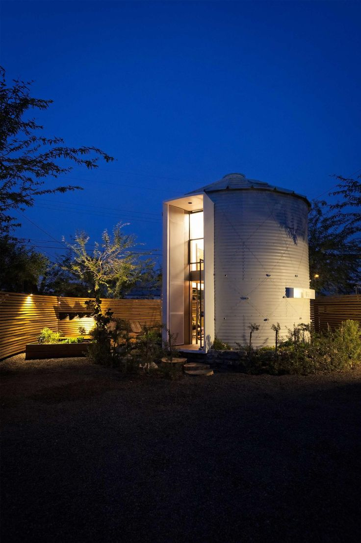 Stylist And Luxury Arizona Home And Garden Show. Silo House by Christopher Kaiser is an upcycled version of grain storage  facility that transformed into modern house for two 153 best Small spaces images on Pinterest Drawing room interior