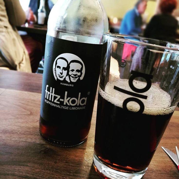 Delicious. Fritz Cola.  #cola #fritzcola #edelcurry #refreshing #hamburg #sanktpauli #stpauli