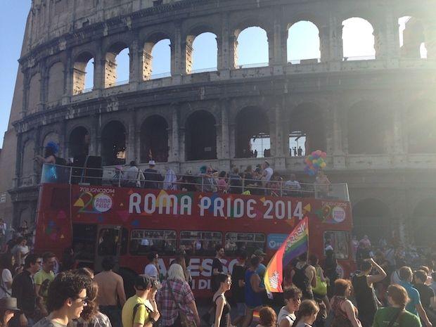 Roma Pride 2014, la parata contro i pregiudizi