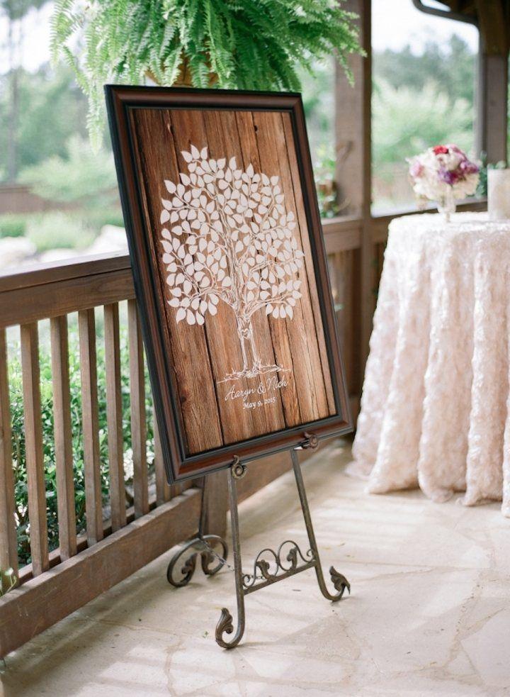 Wedding guestbook idea; Featured photographer: Julie Paisley