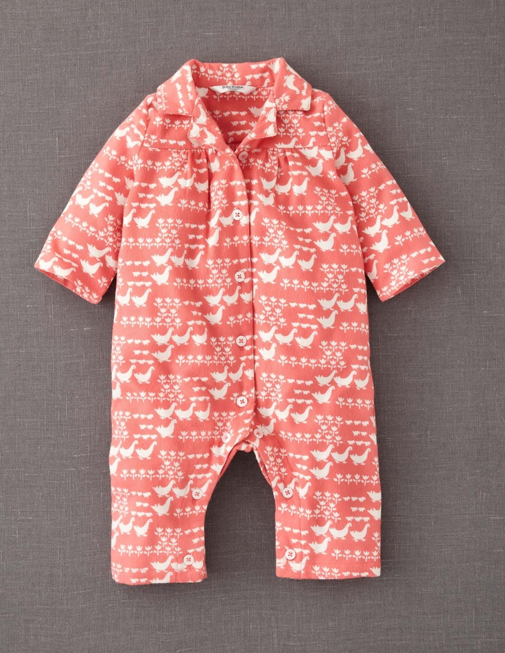 Flannel All-in-one.. chickens!!Flannels Rompers, Boden Summer, Flannels Allinon, Minis Boden, Boden Flannels, Flannels All In On, Boden Magicalmenageri, Baby Clothing, 2014 Baby