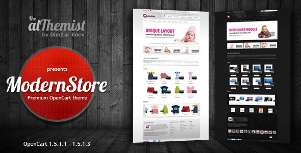 ModernStore - Premium OpenCart 1.4.9.3 theme