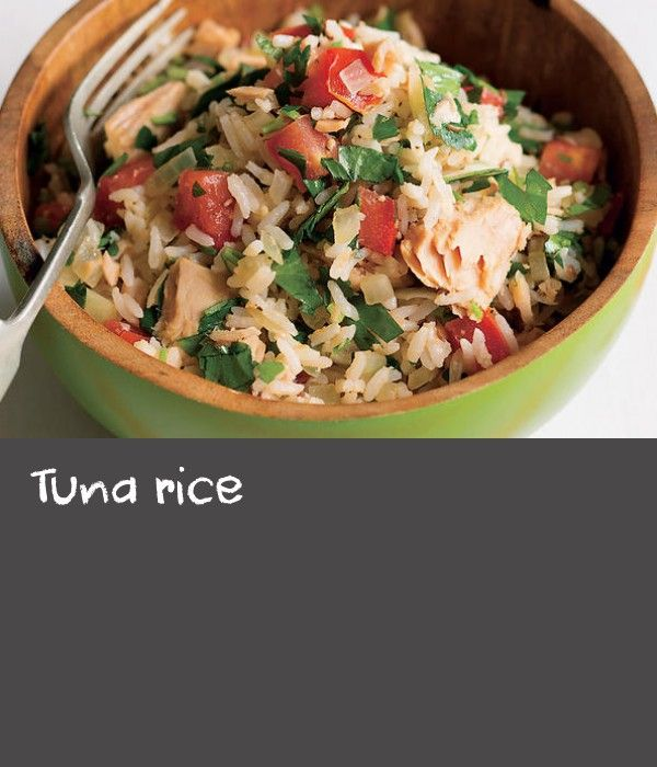 """Tuna rice 