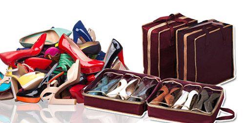 Φορητές Θήκες Αποθήκευσης Παπουτσιών - Shoes Tote