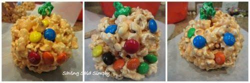 Cooking Said Simply - Pumpkin Popcorn Balls