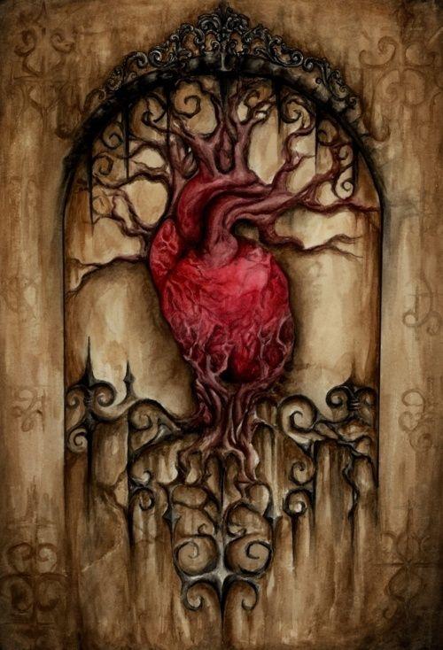 Puerta del corazón.