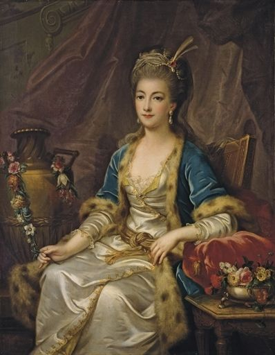 Lady in Turkish dress,c 1775 Le Prince
