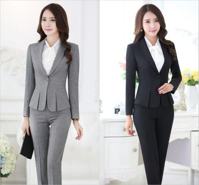 Resultado De Imagen Para Conjuntos Elegantes De Pantalon Y Blusa Juveniles Suits For Women Womens Suits Business Formal Wear Women