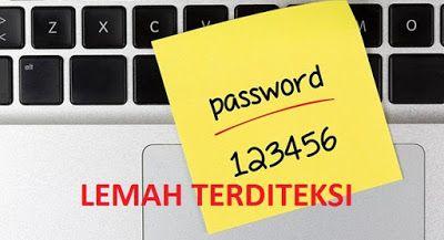BUKTI Ternyata Masih Banyak Orang Yang Mempergunakan Kombinasi Password Lemah Ini