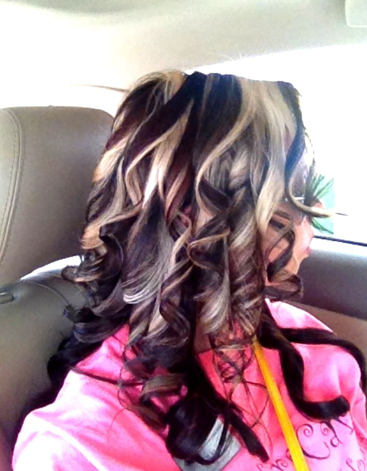 61 best ombre hair images on pinterest hairstyles braids and chunky platinum highlights red and dark brown low lights bold hair contrast pmusecretfo Choice Image