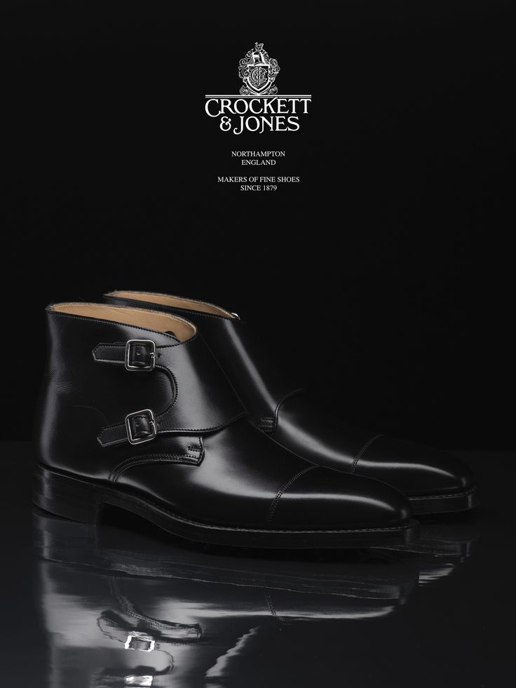 Camberley, a Crockett & Jones double buckle monk style on Last No.348. Made using the finest calf leather with Dainite rubber soles. From the Main Line Collection. As featured in the 24th James Bond film SPECTRE.