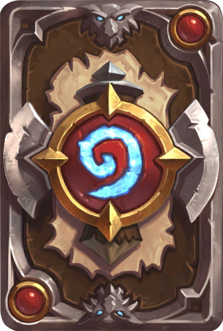 Card Back: Shaman Thrall Artist: Blizzard Entertainment