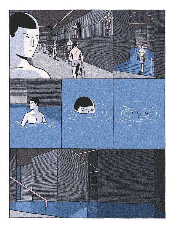 L Aimant Une Première Bd Labyrinthique De Lucas Harari
