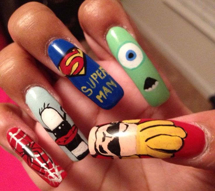 47 best My Creations-Nail Art images on Pinterest | Nail art, Nail ...