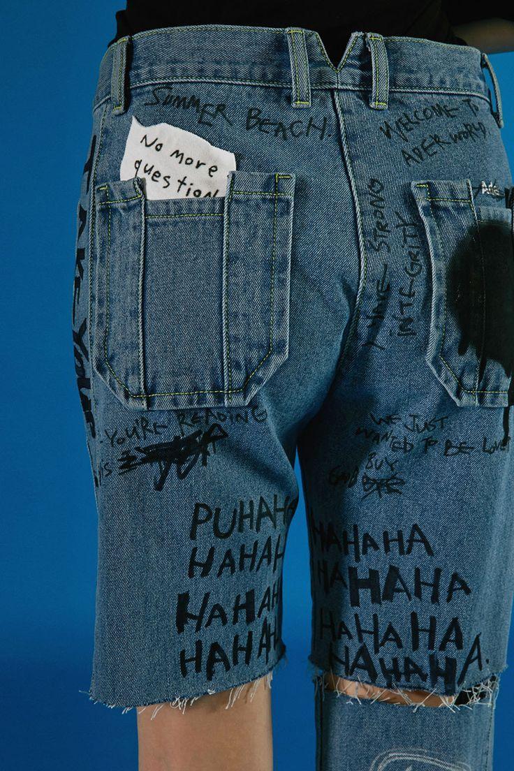 Custom jeans