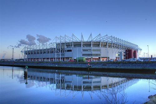Riverside Stadium Middlesbrough - First Visited August 1995