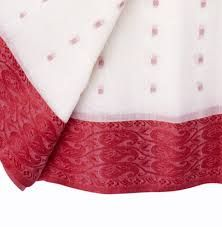 red and white tant saree - Google Search