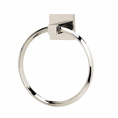 Alno A8440 Contemporary Towel Ring This Towel Ring from Alno comes in a polished chrome finish. Part of the Contemporary II Series collection.  6 Ring
