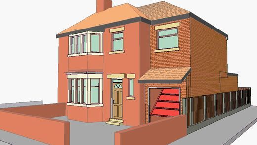 2 storey side extension