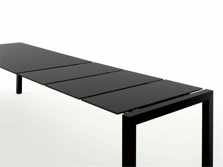 Mesa extensível de Alucobond® SUSHI Coleção Sushi by Kristalia | design Bartoli Design