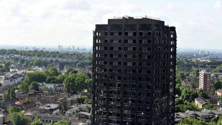 'Gevel Londense torenflat was bekleed met verboden materiaal' | NOS