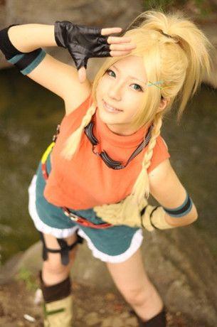 Final Fantasy X Rikku Cosplay