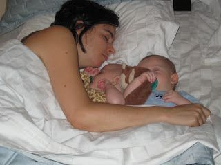 Twin Raising: Advice and Tips on Raising Twins: Cosleeping Times Two!
