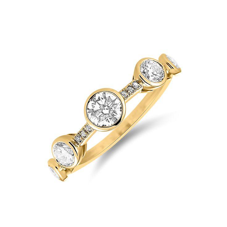 Ring ALO Golden Night www.alodiamonds.com www.alo.cz