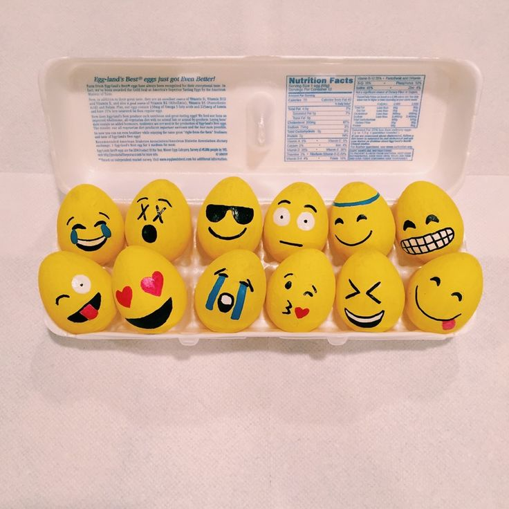 Emoji Easter Eggs Are The Coolest Things You'll Find In Your Easter Basket This Year — Make Them In Just Two Steps