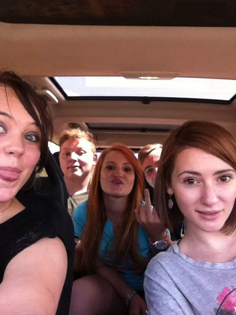 Crazy time in the car