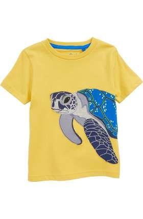 c5131bab4f1 Mini Boden Aquatic Pals Crab Appliqué T-Shirt (Toddler Boys, Little Boys &  Big Boys)   Nordstrom