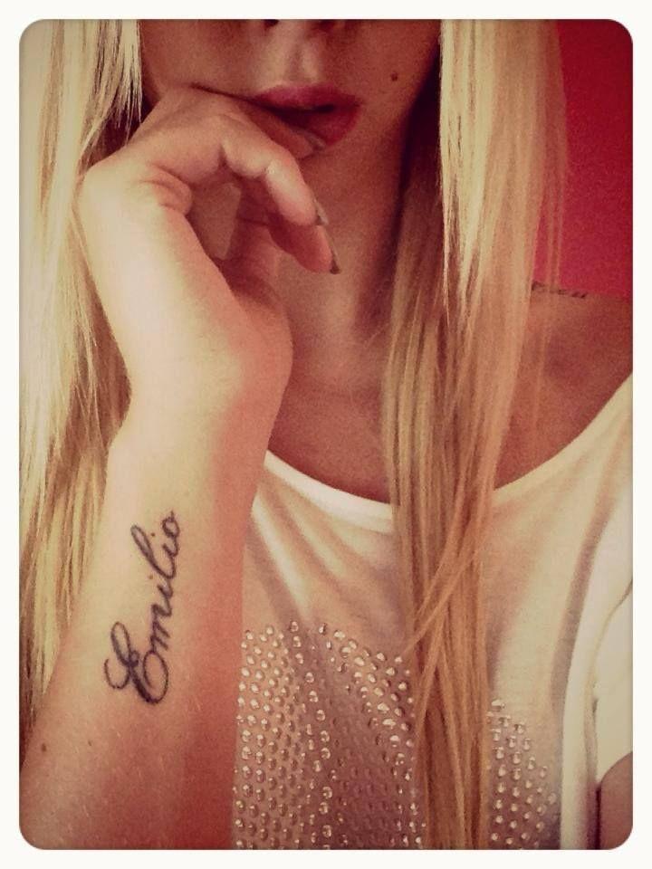#Name #Wrist #Tattoo