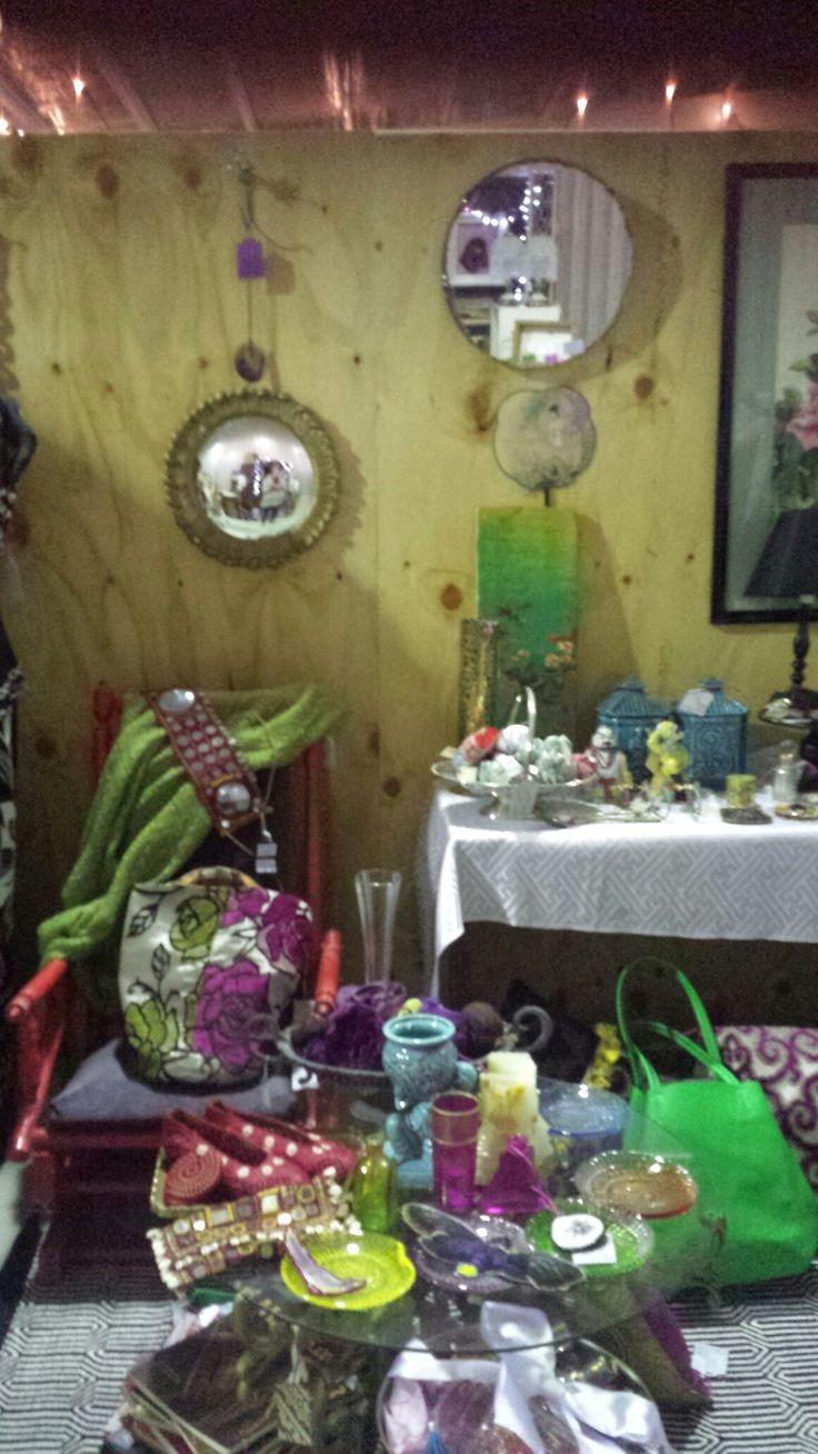 market fair stall .