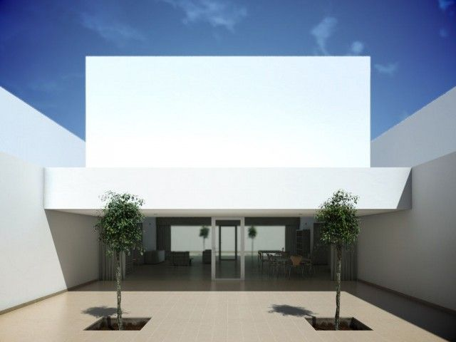 22 best images about arquitectura minimalista on pinterest - Casa campo baeza ...