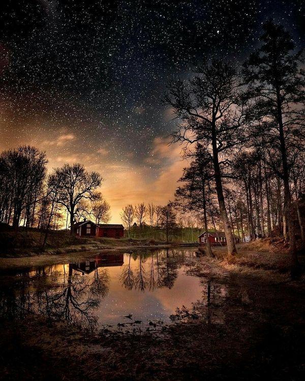 это касается как фотографировать пейзаж ночью процедура сложная
