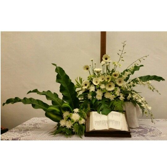 EMCLC☆ Church Altar Flower Arrangements