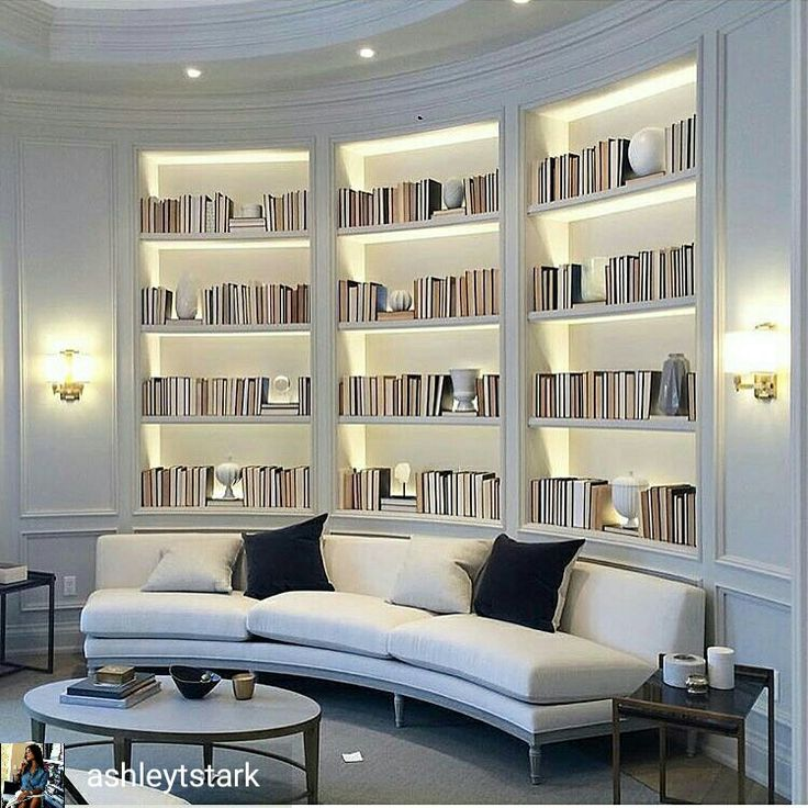 Perfect bookshelves for a contemporary space!
