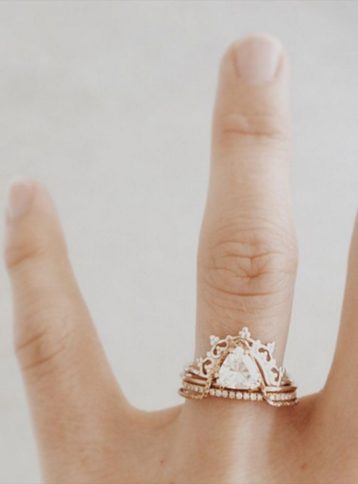 You'll never want to take off these engagement rings