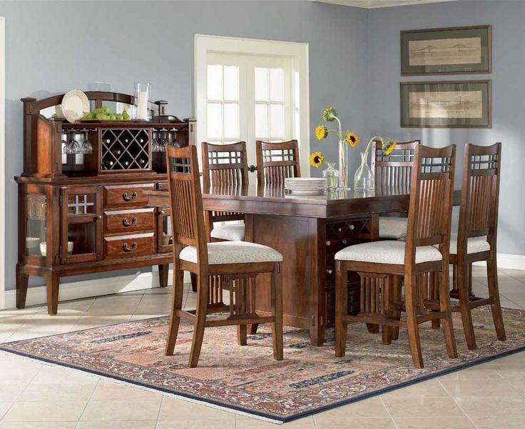Beautiful Casual Dining Room Table Sets Images   3D House Designs .