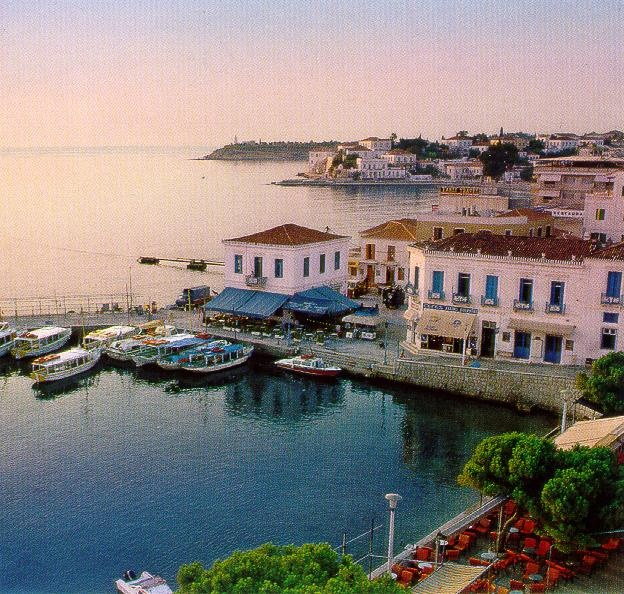 The Island of Spetses, where I spent two amazing weeks!