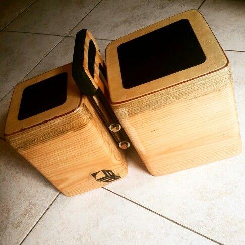 La magia del sonido ...listo un nuevo bongo-cajón  #percussion  #wood #design #apl #musica #percusion #bongo