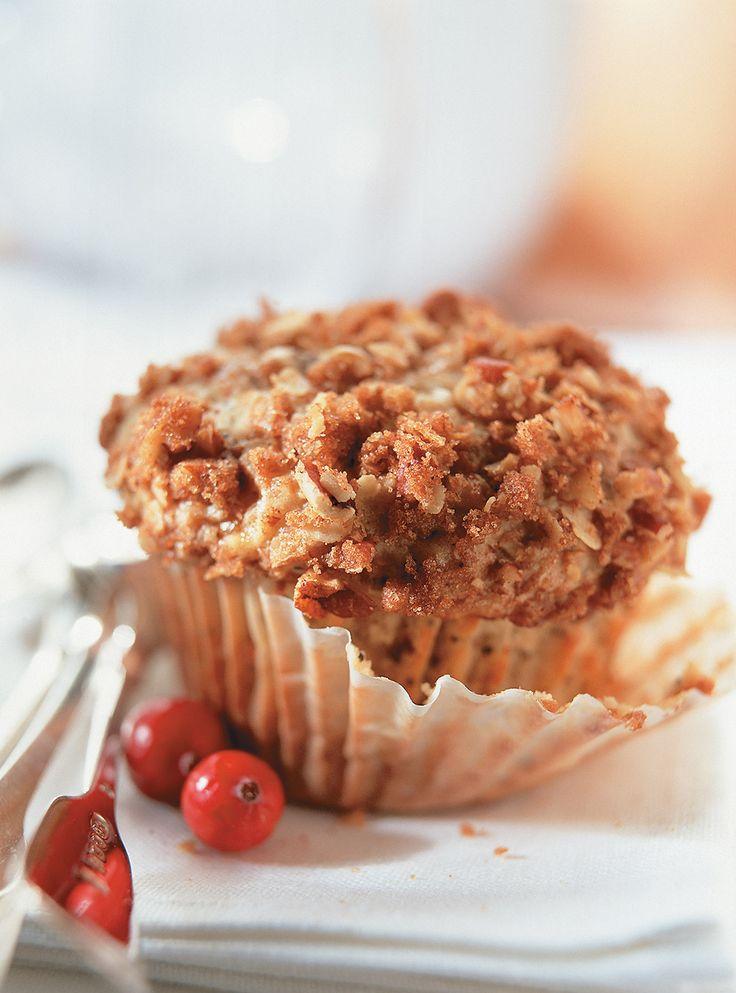 Recette de Ricardo de muffins aux canneberges et au citron.  Cette recette simple de muffins est idéale pour dessert ou comme collation.