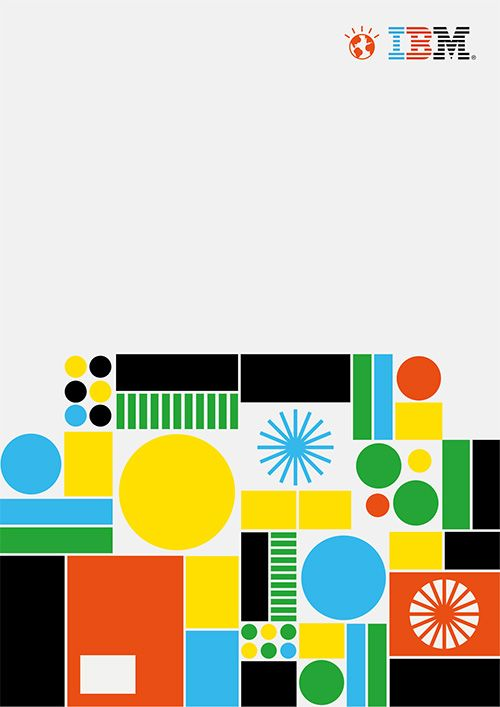 HORT & Carl De Torres | Olgivy campaign poster for IBM ✭ graphic design