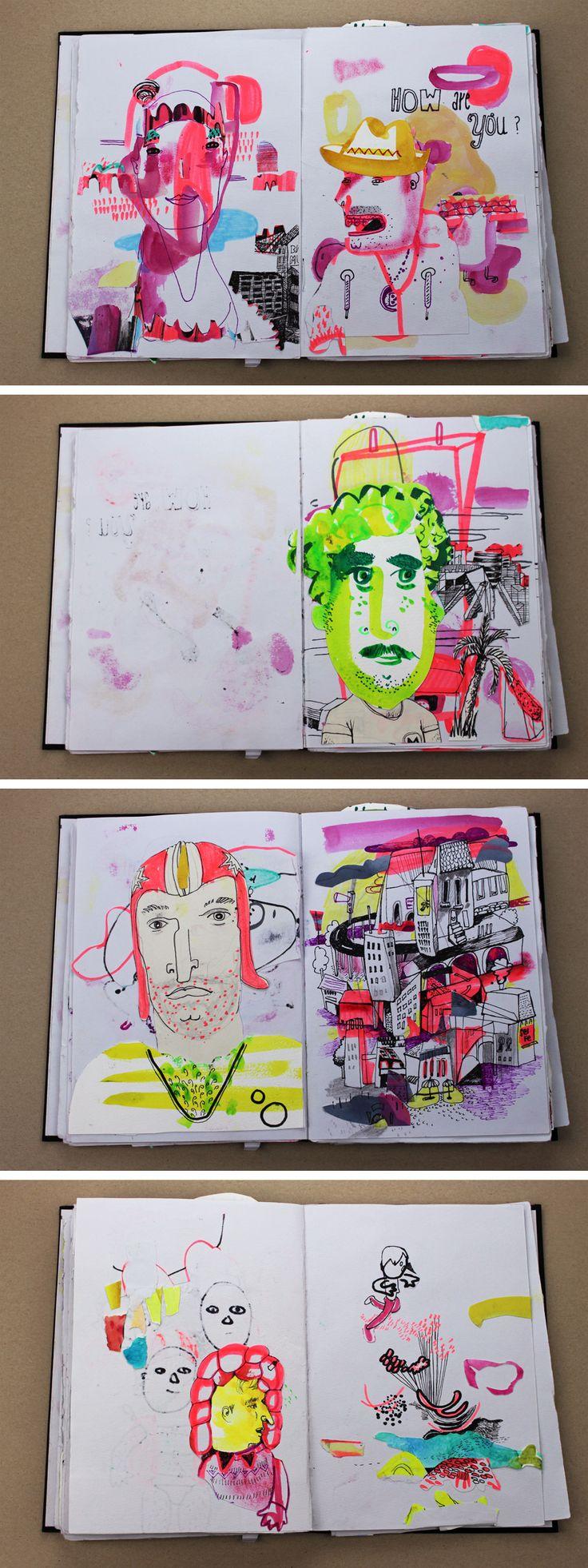 Willkommen im Skizzenbuch | Diana Köhne Illustration | Diana Koehne | Illustration und Grafikdesign | Hamm