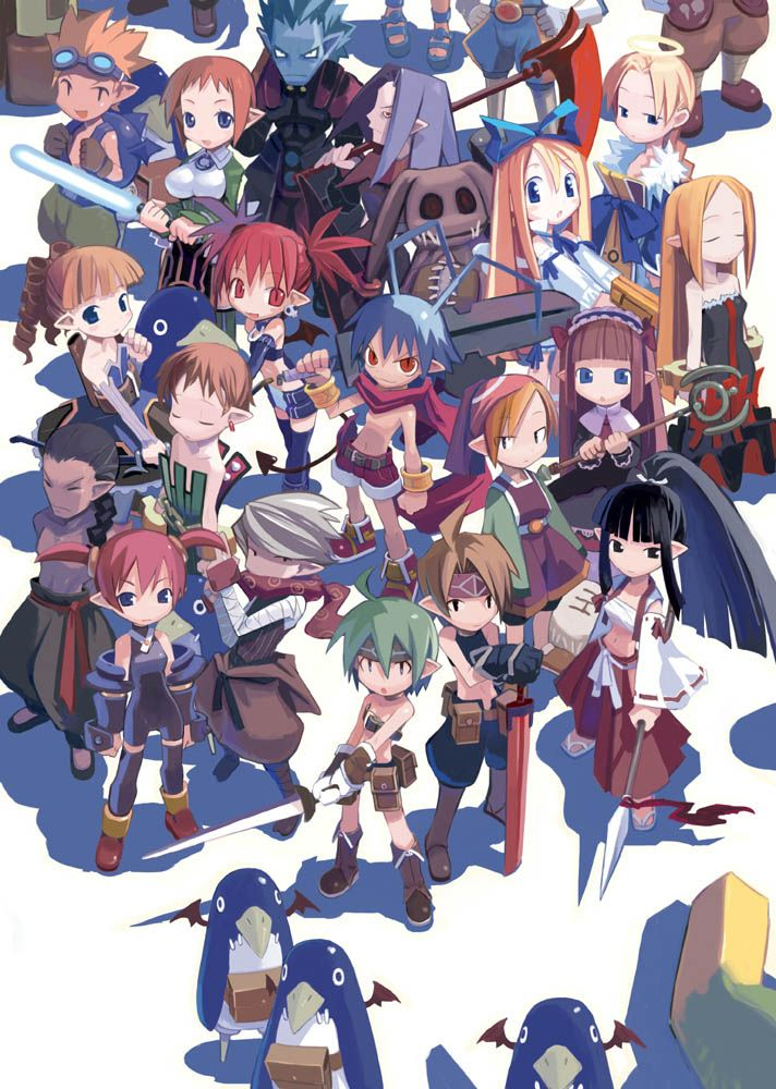 Best Character Design Courses : List of disgaea classes character design references and