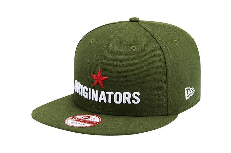 New Era 9Fifty Originators Star Green Snapback Flat Bill Cap Adjustable Hat #NewEra #BaseballCap
