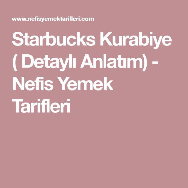 Starbucks Kurabiye ( Detaylı Anlatım) - Nefis Yemek Tarifleri