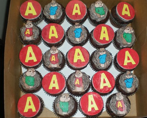 Ideas for Alvin and the Chipmunks bday party.