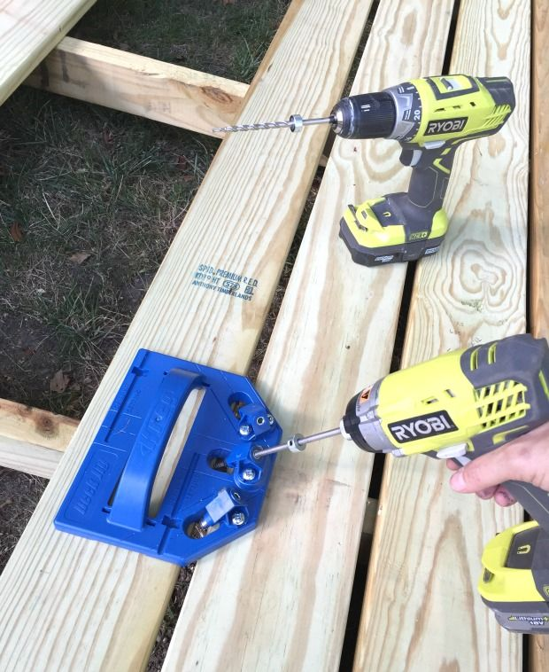 Kreg deck jig to install deck boards
