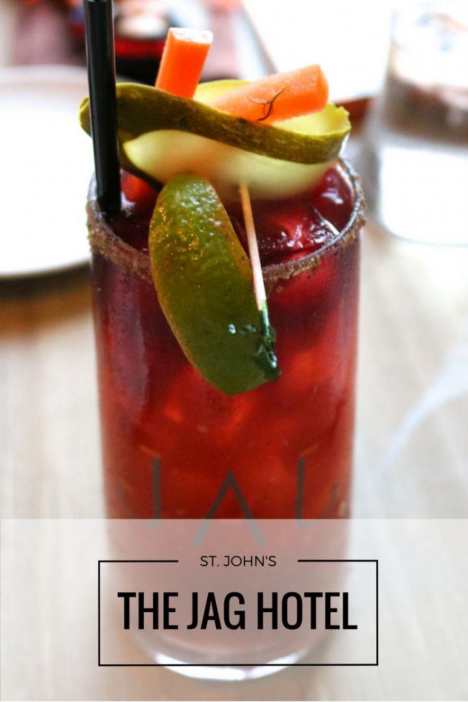 The Jag Hotel St. John's Newfoundland had the best Caesar's ever!